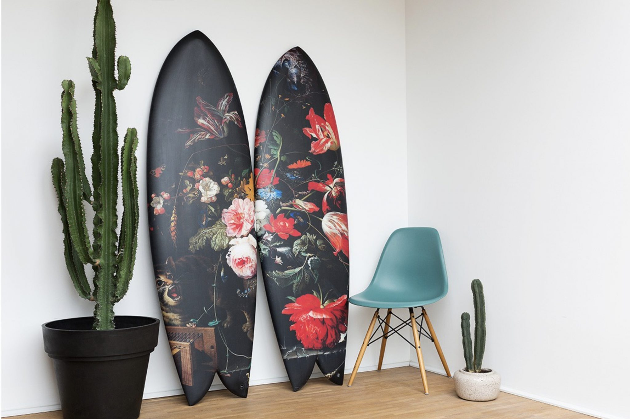 Highsnobiety Surfboard art
