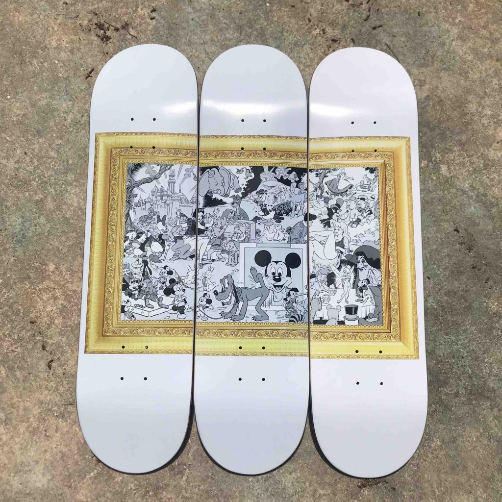 Disney Orgy 1967 skateboard