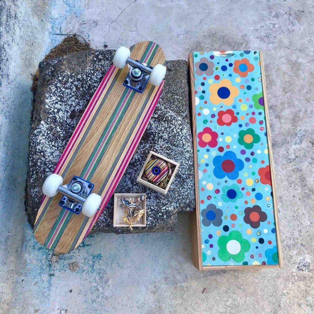 Woody 1970 skateboard